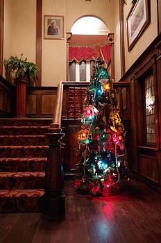 Marilyn Wilson - Christmas Tree at Royal BC Museum