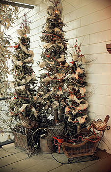 Laurie Perry - Christmas Trees of the Past