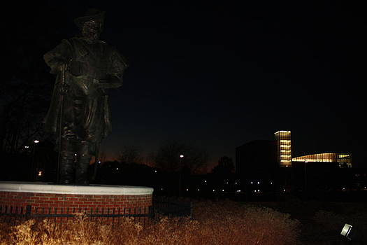 Christopher Newport Statue by James Lawson
