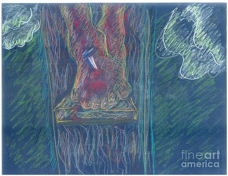 Christ's feet by Valerie VanOrden