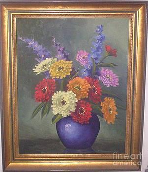 Chrysanthemums by Edna Palmer Engelhardt