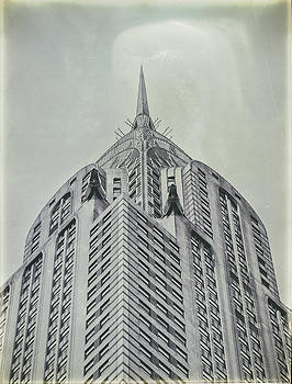 Chrysler Building Vintage look by Dick Wood