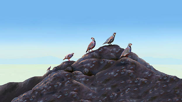 Chuckers - Calling in the Flock by Laird Roberts