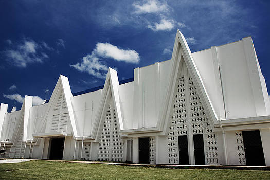 Church in Liberia in Costa Rica by Laszlo Rekasi