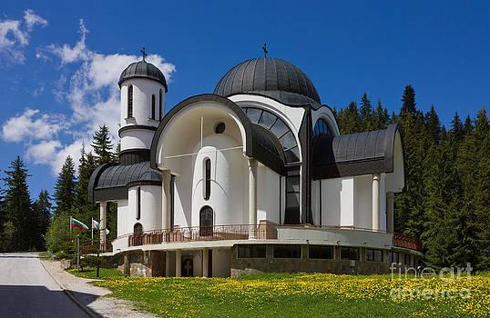 Church in Ski Resort Pamporovo by Kiril Stanchev