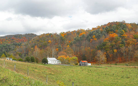 Church in the Valley by Helen Ellis