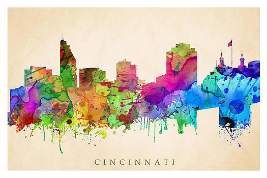 Cincinnati Cityscape by Steve Will