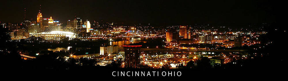 Randall Branham - Cincinnati Ohio Panorama