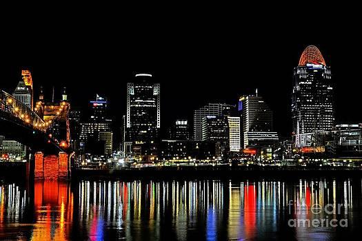 Mel Steinhauer - Cincinnati Skyline Dreams 3