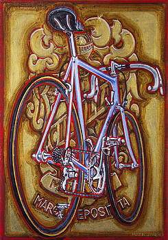 Cinelli Laser bicycle by Mark Howard Jones