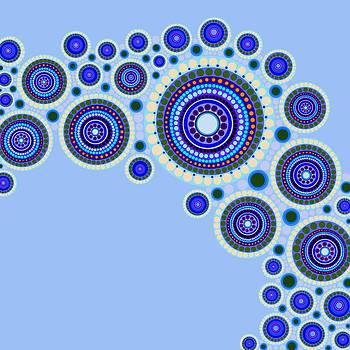Circle Motif 117 by John F Metcalf