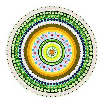 Circle Motif 237 by John F Metcalf
