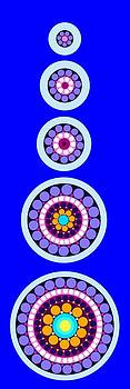 Circle Motif 238 by John F Metcalf
