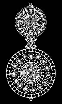 Circle Motif 242 by John F Metcalf