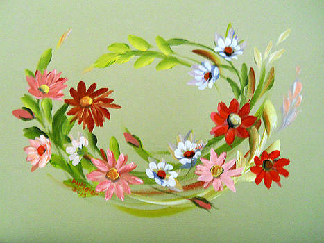 Circle of Daisies by Dorothy Maier