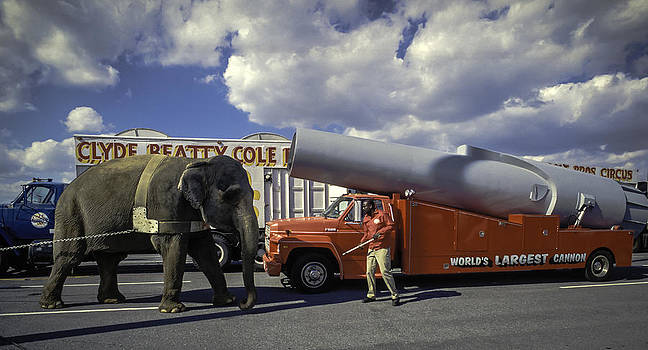 Circus back lot. by Brian R Tolbert