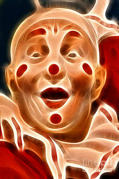 Wingsdomain Art and Photography - Circus Clown - 2012-1230 - Electric