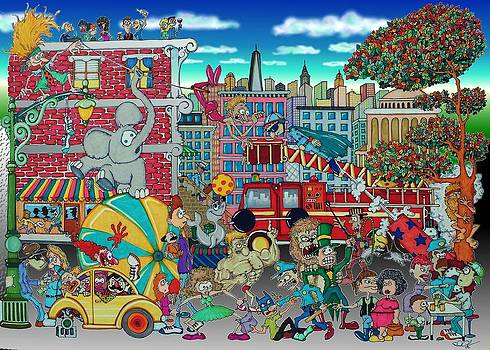 Circus in the City by Paul Calabrese