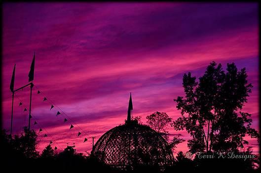 Circus Sunset by Terri K Designs