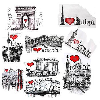 Cities1 by Sladjana Lazarevic