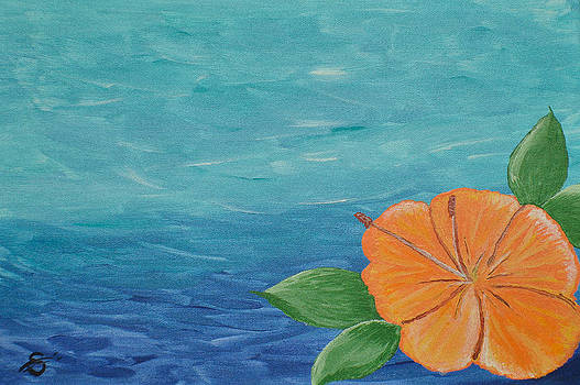 Citrus Hibiscus by Sherry Allen