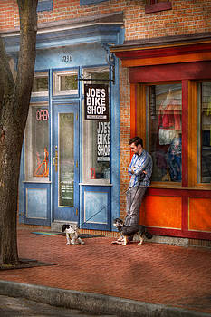 Mike Savad - City - Baltimore MD - Waiting by Joe