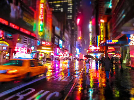 City Colors at Night by Andrew Kazmierski