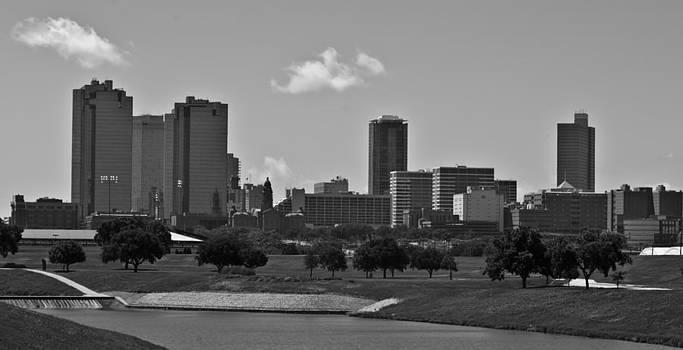 Fort Worth City SkyLine by Matthew Miller