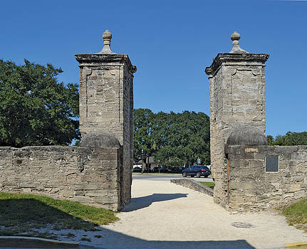 City Gates OF St. Augustine by Harold Shull