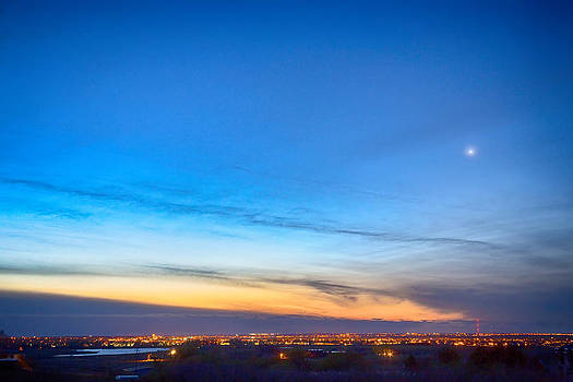 James BO  Insogna - City Lights and a Venus Morning Sky