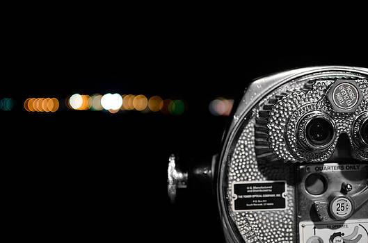 City Lights in Bokeh by Andrew Crispi