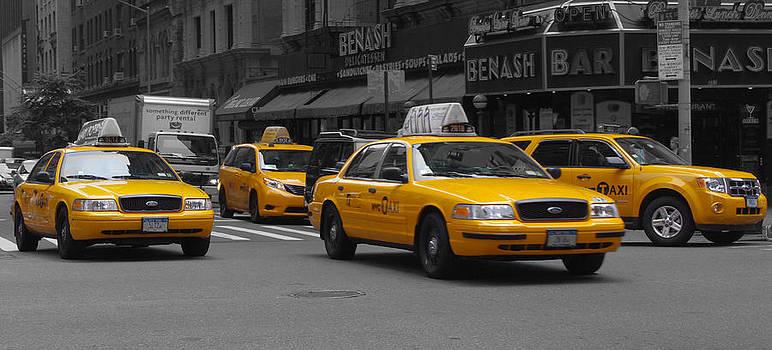 New York-City-Taxi by Matthew Miller