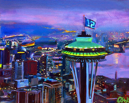 City of 12's by Aaron Hazel
