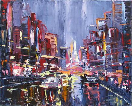 City Party Time by Elena Nayman