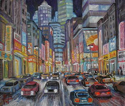 Cityscape 2010 by Henry David Potwin