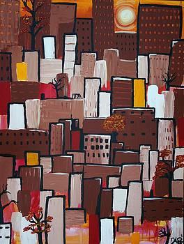 Cityscape 5 by Jose A Gonzalez