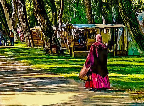 Civil War Encampment  by Bob and Nadine Johnston