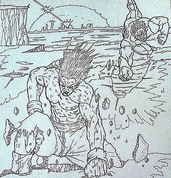 Clash of the Titans Scenic by Michael Briggs