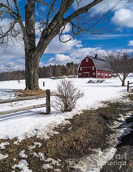 Edward Fielding - Classic New England Farm Scene