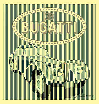 Classic Sport Car by Nelson Barros