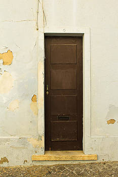 Classic Wood Panel Door of Portugal by Calvin Hanson