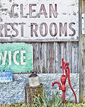 Clean Restrooms by Katie Abrams