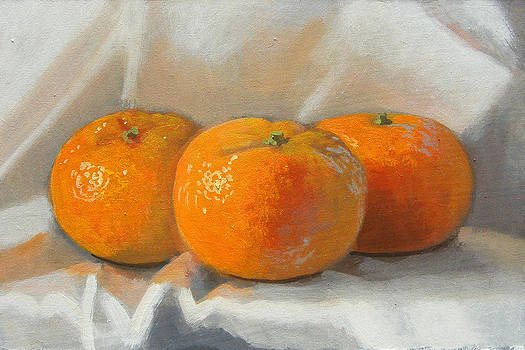 Clementines by Peter Orrock