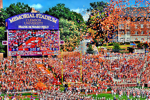 Clemson Tigers Memorial Stadium II by Jeff McJunkin