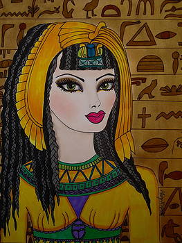 Cleopatra  by Maria  Ruiz