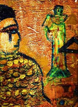 Anne-Elizabeth Whiteway - Cleopatra Work In Progress