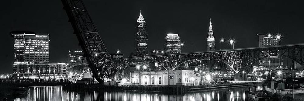 Frozen in Time Fine Art Photography - Cleveland Black Night