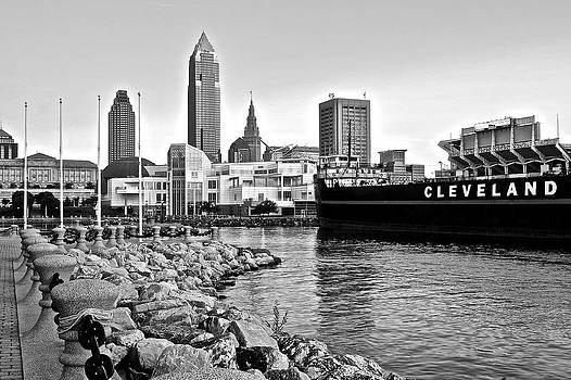 Frozen in Time Fine Art Photography - Cleveland Ohio in Black and White