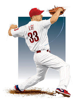 Cliff Lee by Scott Weigner