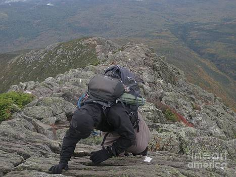 Jonathan Welch - Climbing Mt. Katahdin